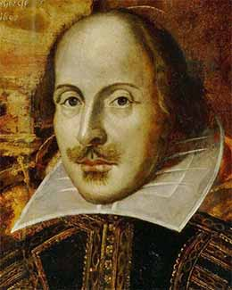 Retrato William Shakespeare